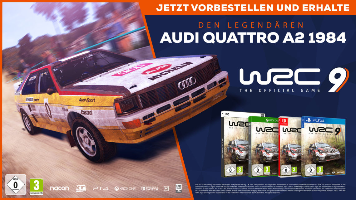 WRC 9 - Details zu Deluxe Edition und exklusivem Vorbesteller-Bonus veröffentlicht