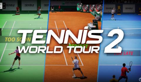 Tennis World Tour 2: Die Neuerungen des Spiels