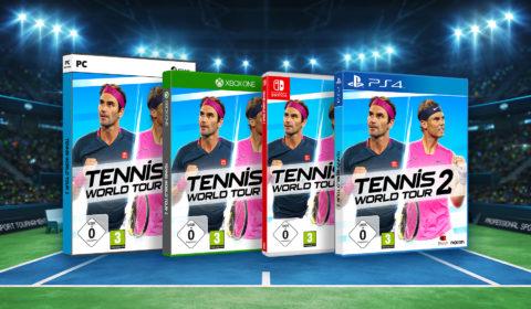 Tennis World Tour 2 ist ab morgen im Handel erhältlich