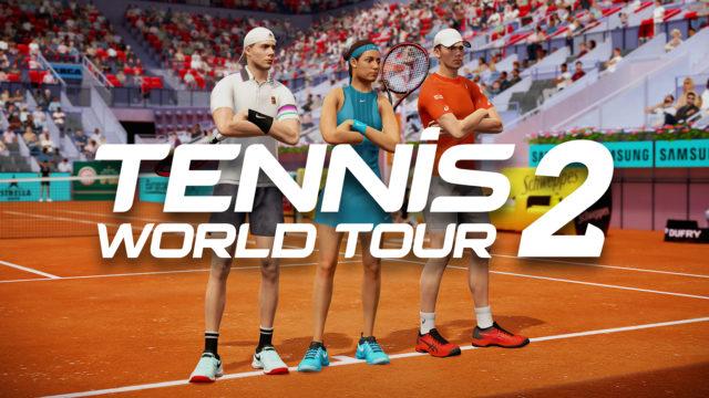 Tennis World Tour 2: Die 38 Tennisstars im Spiel