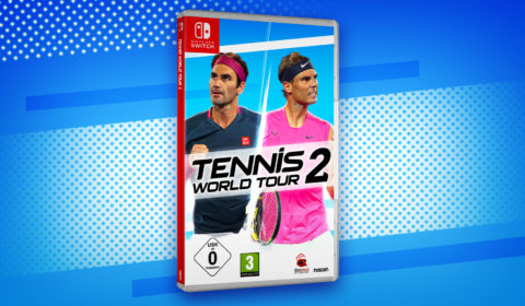 ennis World Tour 2 ist ab sofort für Nintendo Switch im Handel erhältlich