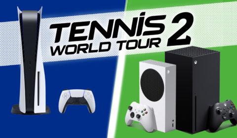 Tennis World Tour 2 kommt im März 2021 für Next-Gen-Konsolen