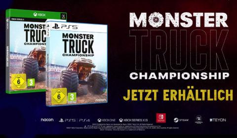 Monster Truck Championship – Accolades-Trailer zum Next-Gen-Start veröffentlicht