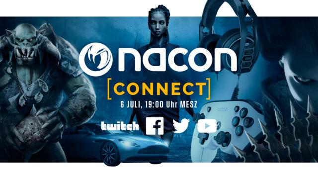 NACON CONNECT findet am 6. Juli statt