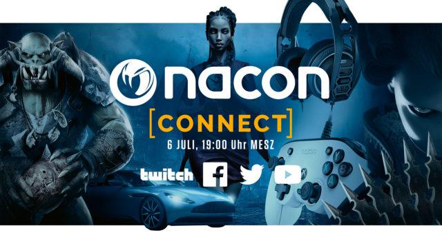 Save the date: Nacon Connect 2021 findet am 6. Juli statt