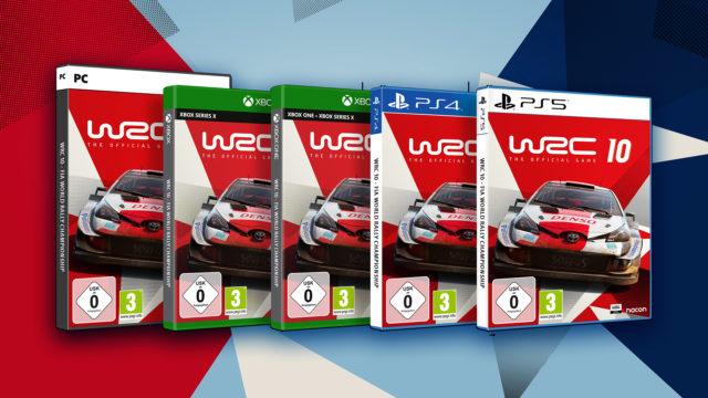 WRC 10 ist jetzt erhältlich
