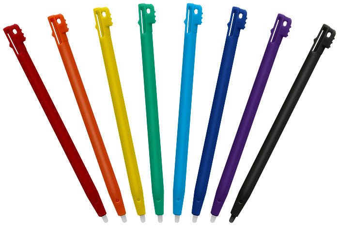 Pack 8 Rainbow Stylus per NDS™ - Immagine