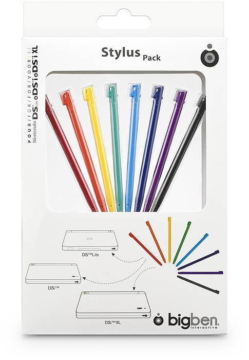 Pack 8 Rainbow Stylus per NDS™ - Packshot