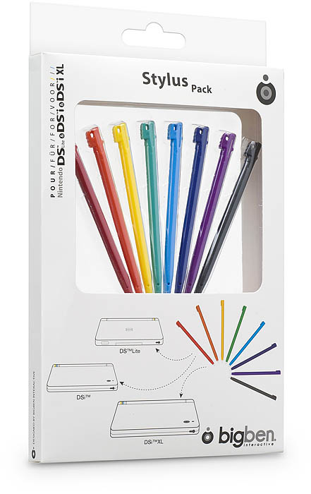 Pack 8 Rainbow Stylus per NDS™ - Immagine #1
