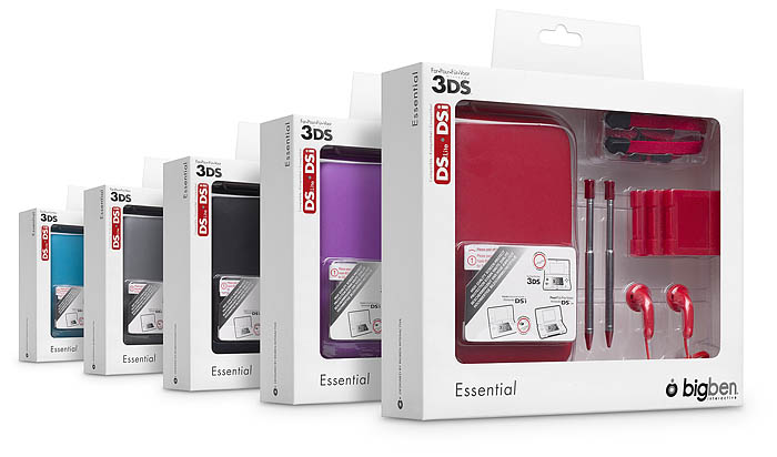 Essential Pack  | 3DS/ DSi/ DS lite - Immagine
