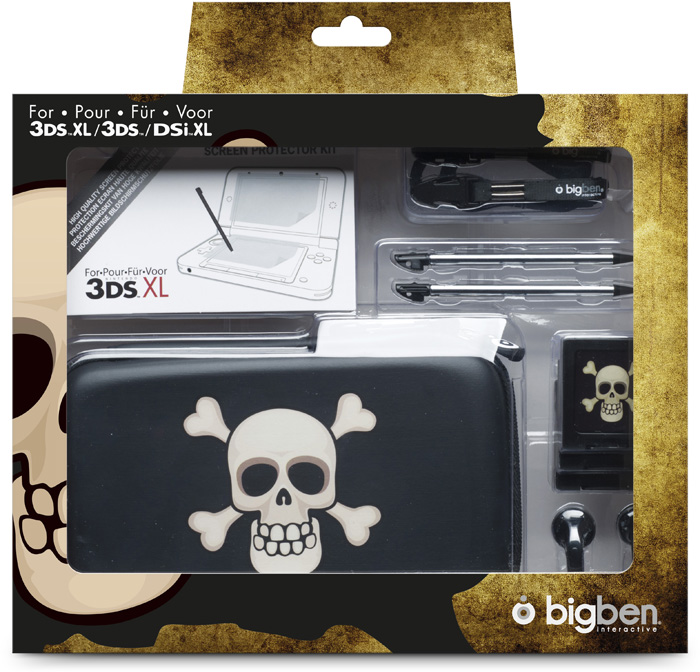 Pack Pirates per Nintendo 3DS XL / 3DS / DSi Xl - Immagine #1