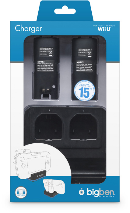 Dual Charger per Nintendo Wii U - Immagine