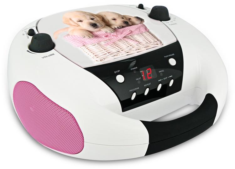 Radio CD portatile CD52 (Dogs) - Packshot