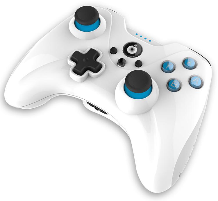 Controller Wireless per Wii U (bianco) - Immagine