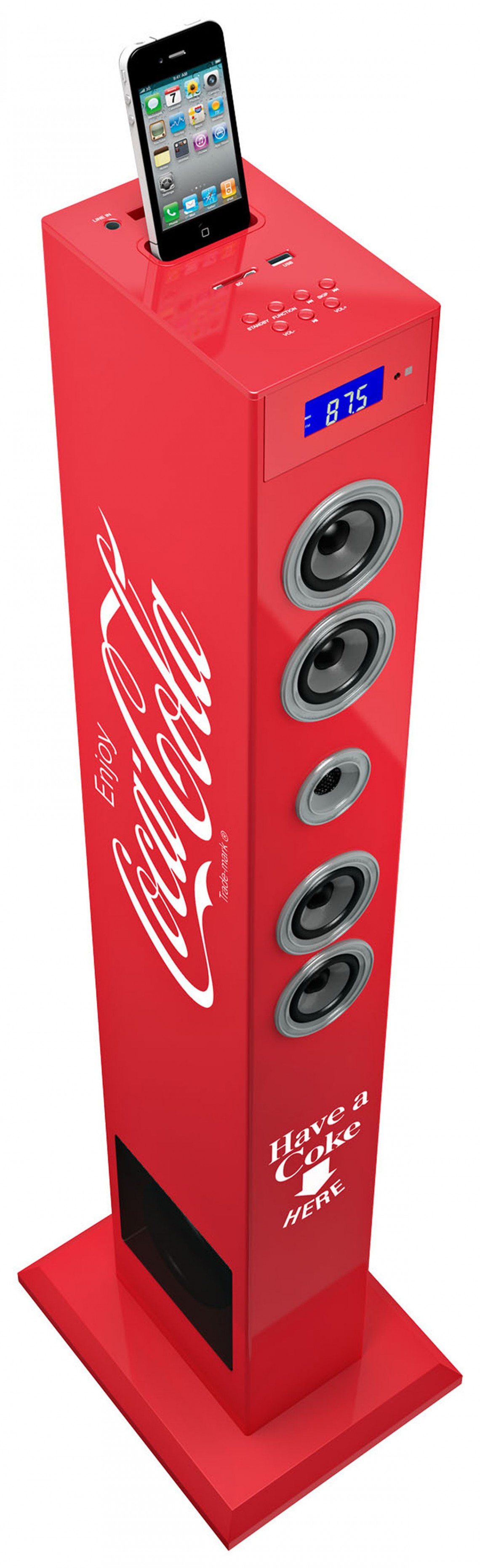 Torre Multimediale plug & play COCA-COLA - Immagine #10