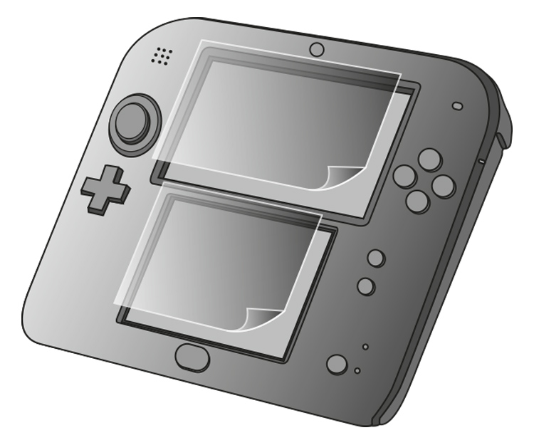 Screen Protector per Nintendo 2DS™ - Immagine #1