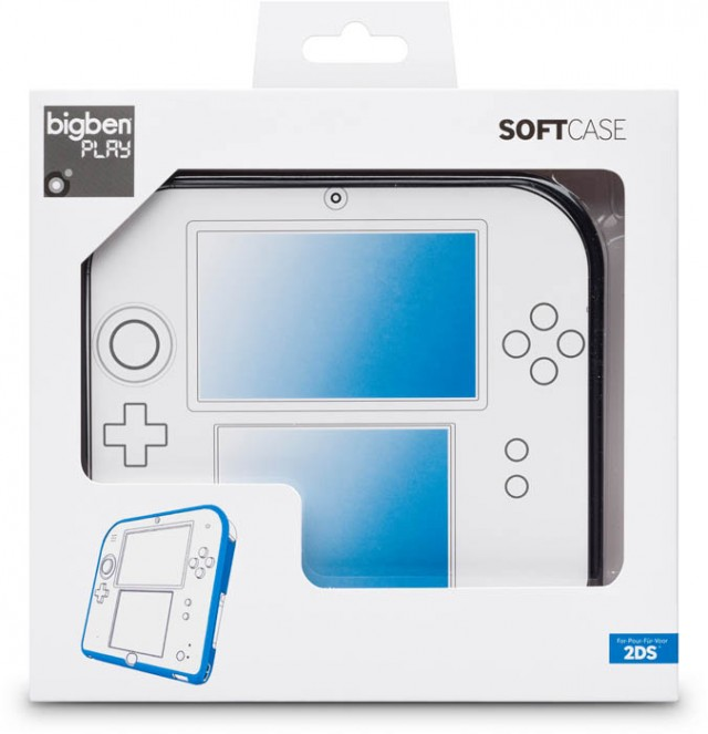 Case in silicone per Nintendo 2DS™ - Packshot