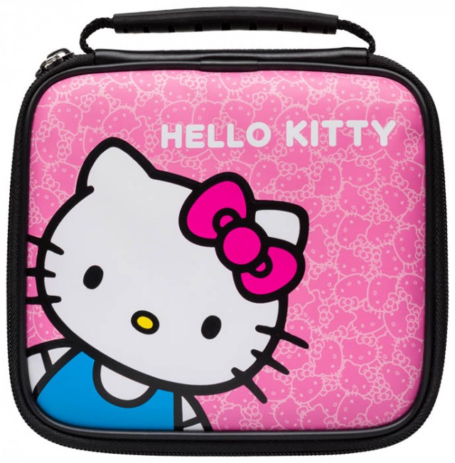 "Borsetta ufficiale ""hello Kitty"" per Nintendo 2DS - Packshot"