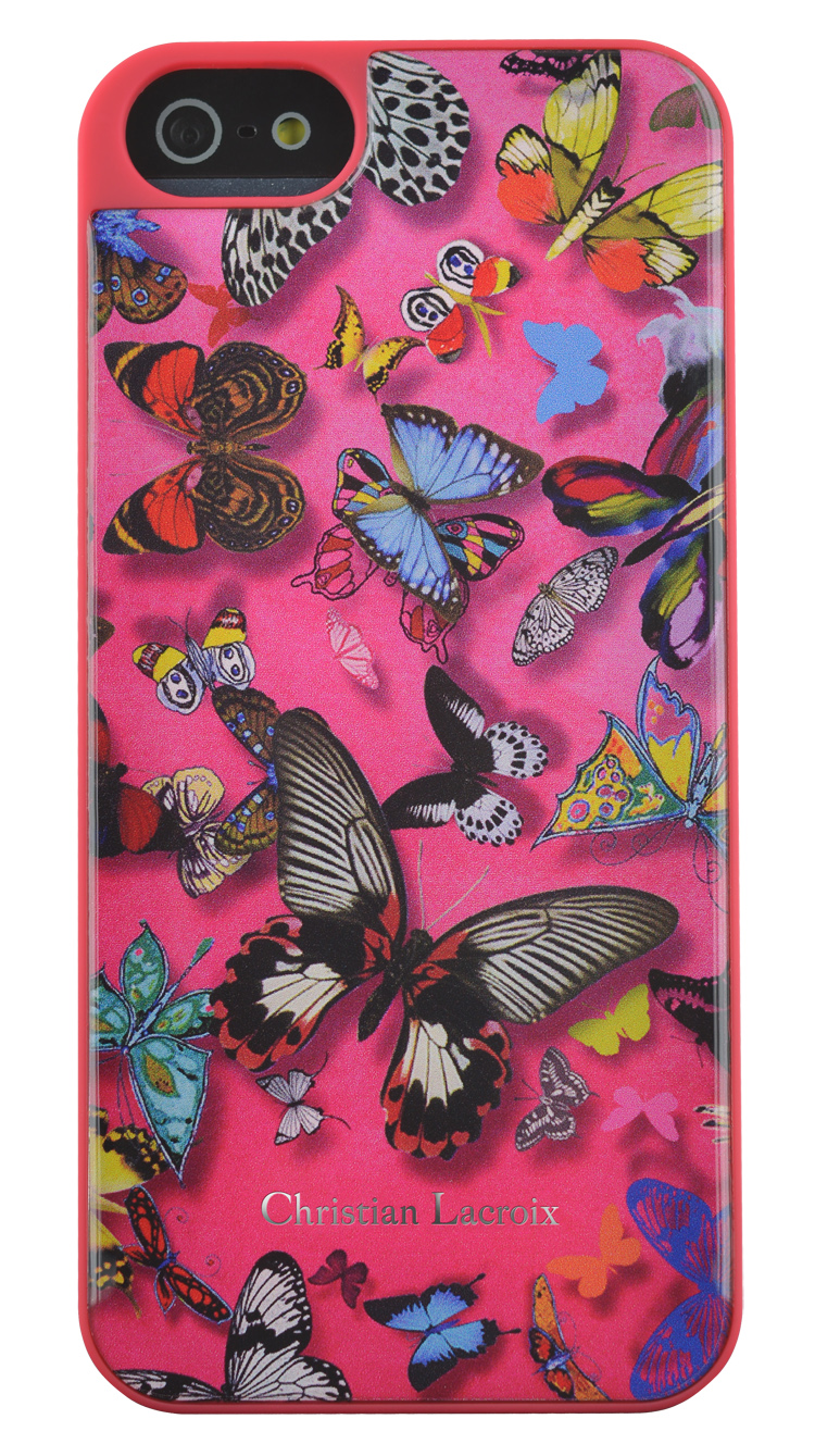 """CHRISTIAN LACROIX Hard case """"Butterfly Parade"""" (Grenadine) - Immagine"""