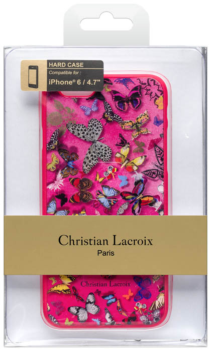 """CHRISTIAN LACROIX Hard case """"Butterfly Parade"""" (Grenadine) - Immagine #1"""