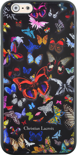 """CHRISTIAN LACROIX Hard case """"Butterfly Parade"""" (Oscuro) - Packshot"""