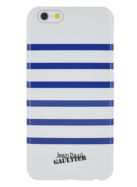 "Jean-Paul Gaultier Back cover ""Marinière""(white&navy) - Packshot"