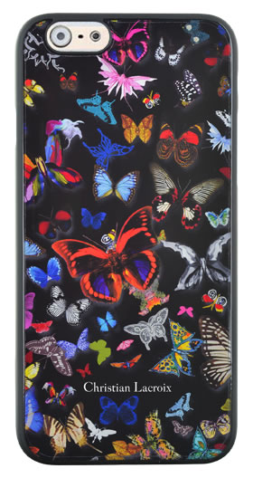 "CHRISTIAN LACROIX Hard case ""Butterfly Parade"" (Oscuro) - Packshot"