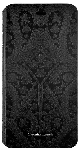 "CHRISTIAN LACROIX folio case ""Paseo"" (Black) - Packshot"