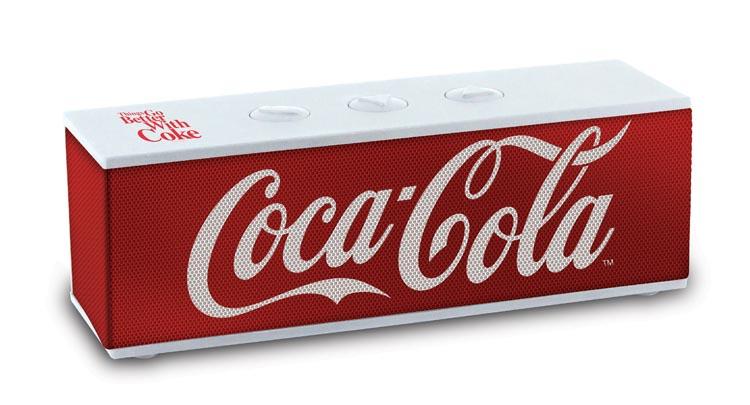 "Bluetooth® speaker ""Coca-Cola®"" - Packshot"
