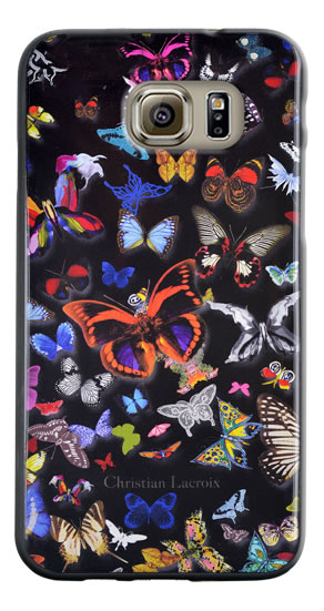 "Christian Lacroix Hard Case ""Butterfly Parade"" (Black) - Packshot"