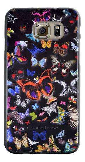 "Christian Lacroix Hard Case ""Butterfly Parade"" (Black) - Packshot"