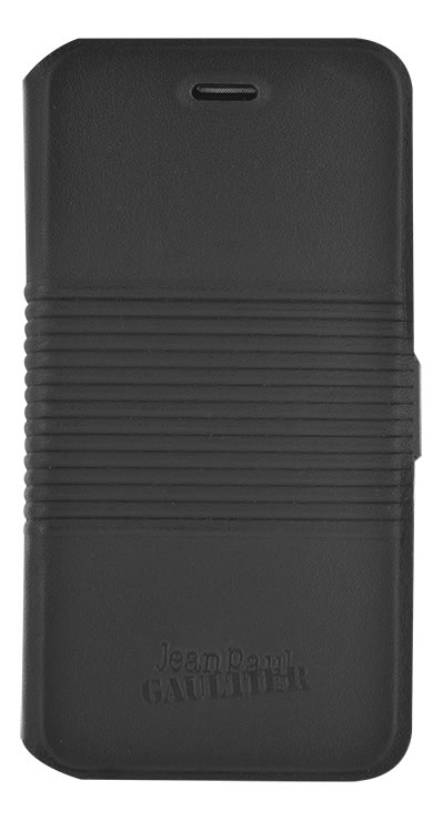 "Jean Paul Gaultier Folio Case ""Tin Can"" (Black) - Packshot"
