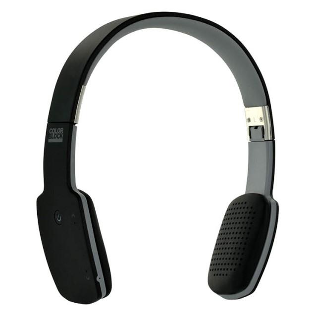 Cuffie ultra piatte Bluetooth® Colorblock (Dark Night) - Packshot