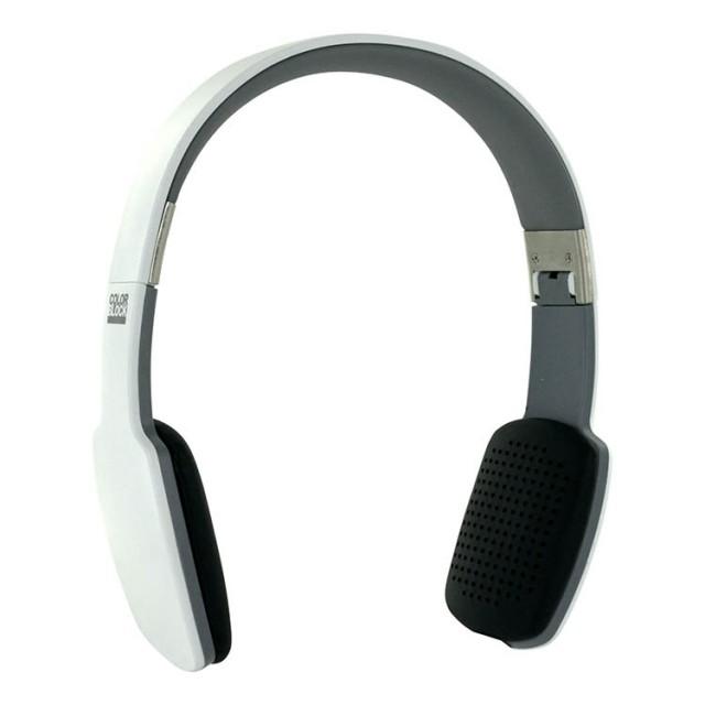 Cuffie ultra piatte Bluetooth® Colorblock (Arctic White) - Packshot