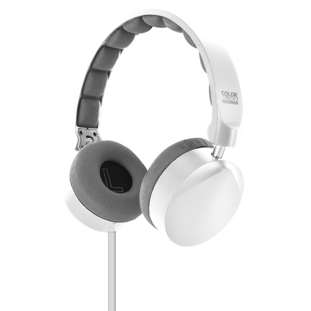 Cuffie Stereo con cavo Colorblock (Arctic White) - Packshot