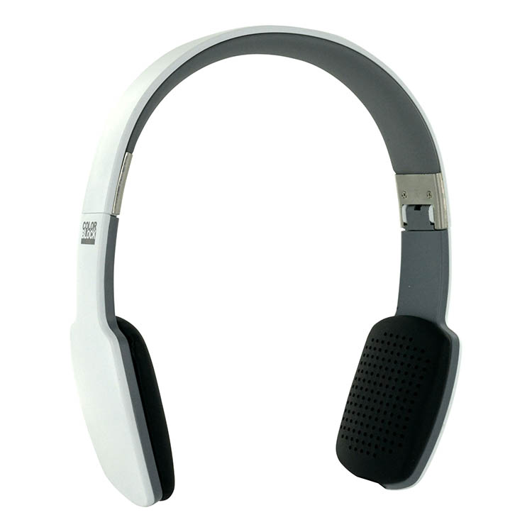 Cuffie ultra piatte Bluetooth® Colorblock (Arctic White) - Immagine