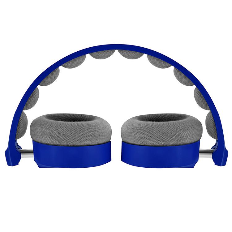 Cuffie Stereo con cavo Colorblock (Royal Blue) - Immagine #1