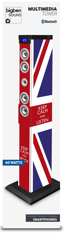 Multimedia Tower Keep Calm (UK) - Immagine #2