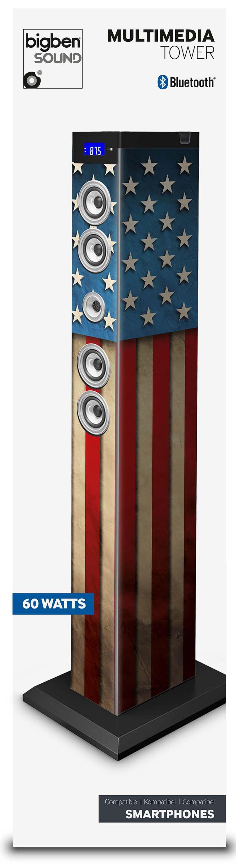 "Multimedia tower ""US flag"" - Immagine #2"