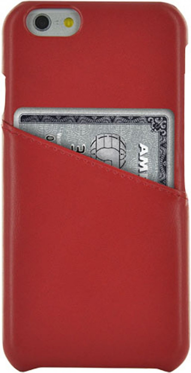 Hard Case Leather (Red) - Packshot