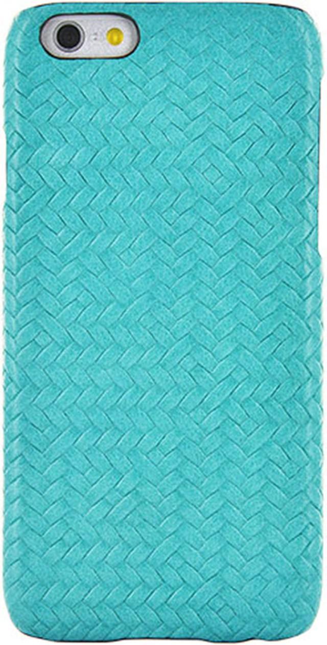 Hard Case 'Braided Leather' (Blue) - Packshot