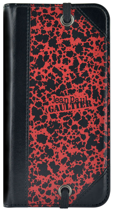 "Jean-Paul Gaultier Folio Case Military"" (Red)"" - Packshot"