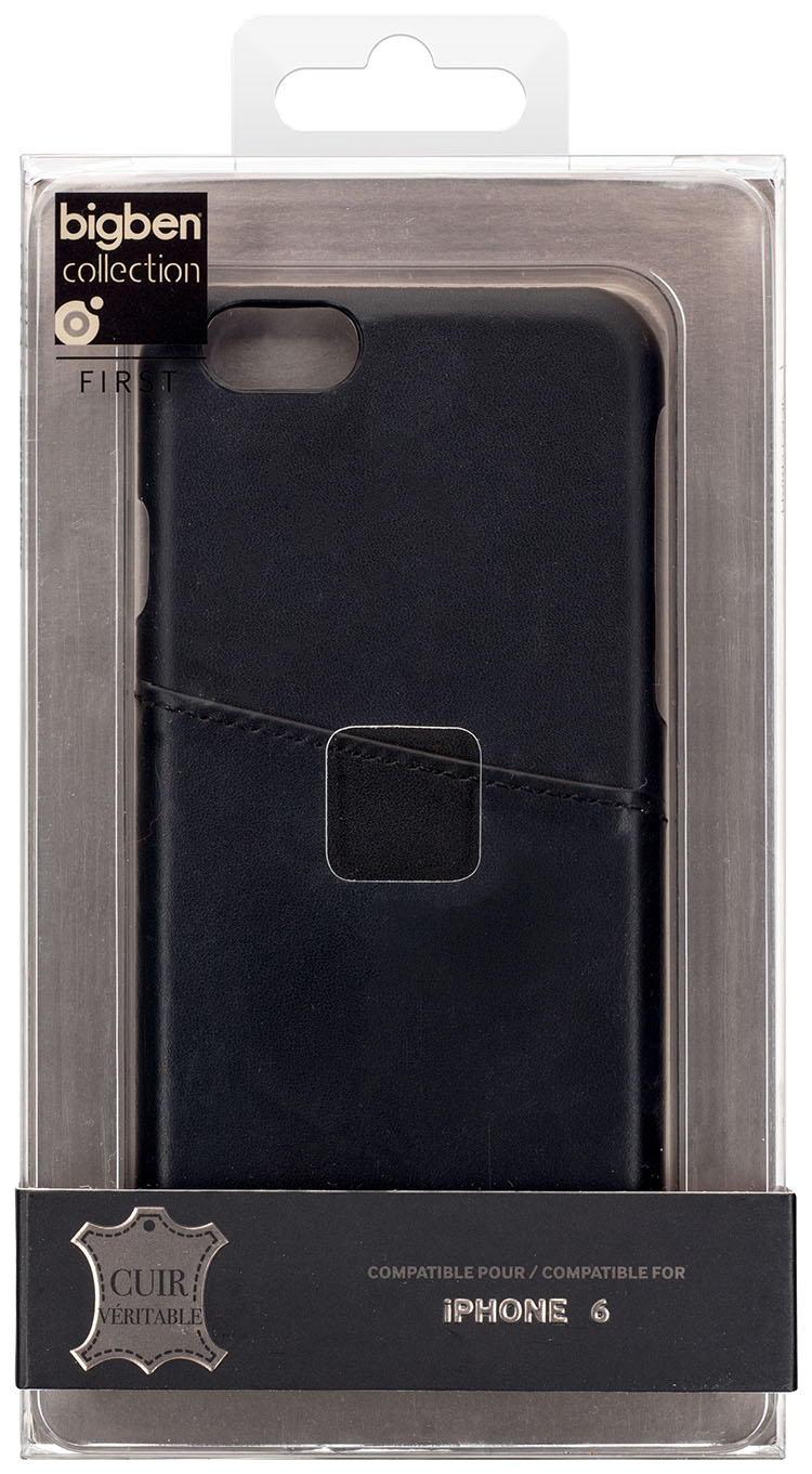 Hard Case Leather (Black) - Immagine
