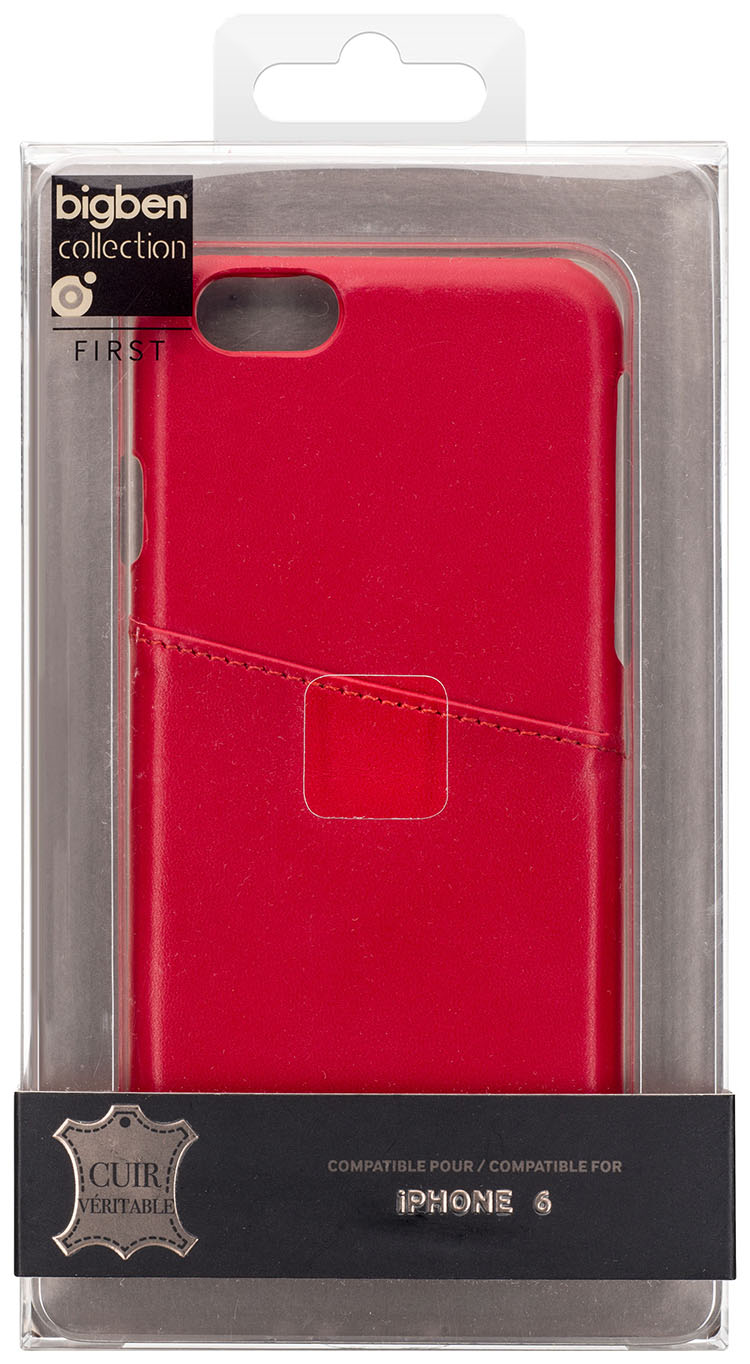 Hard Case Leather (Red) - Immagine
