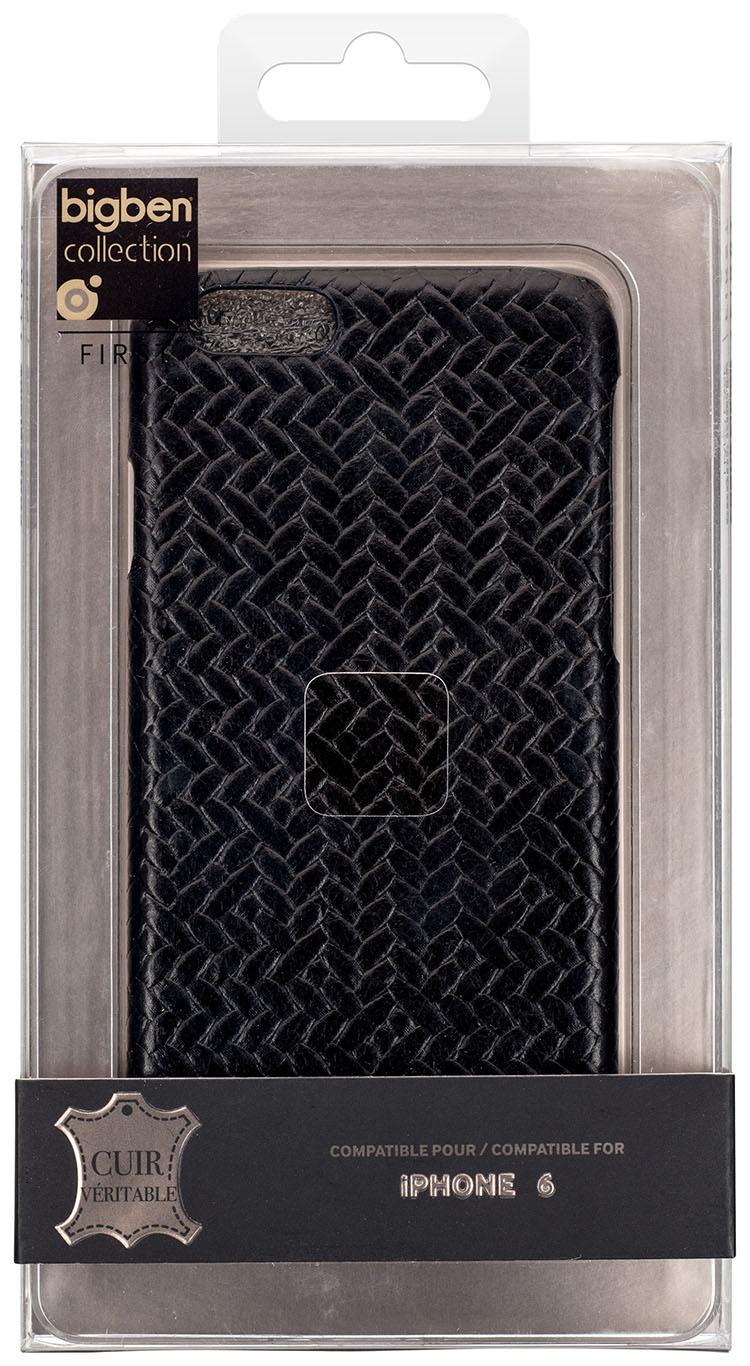 Hard Case 'Braided Leather' (Black) - Immagine