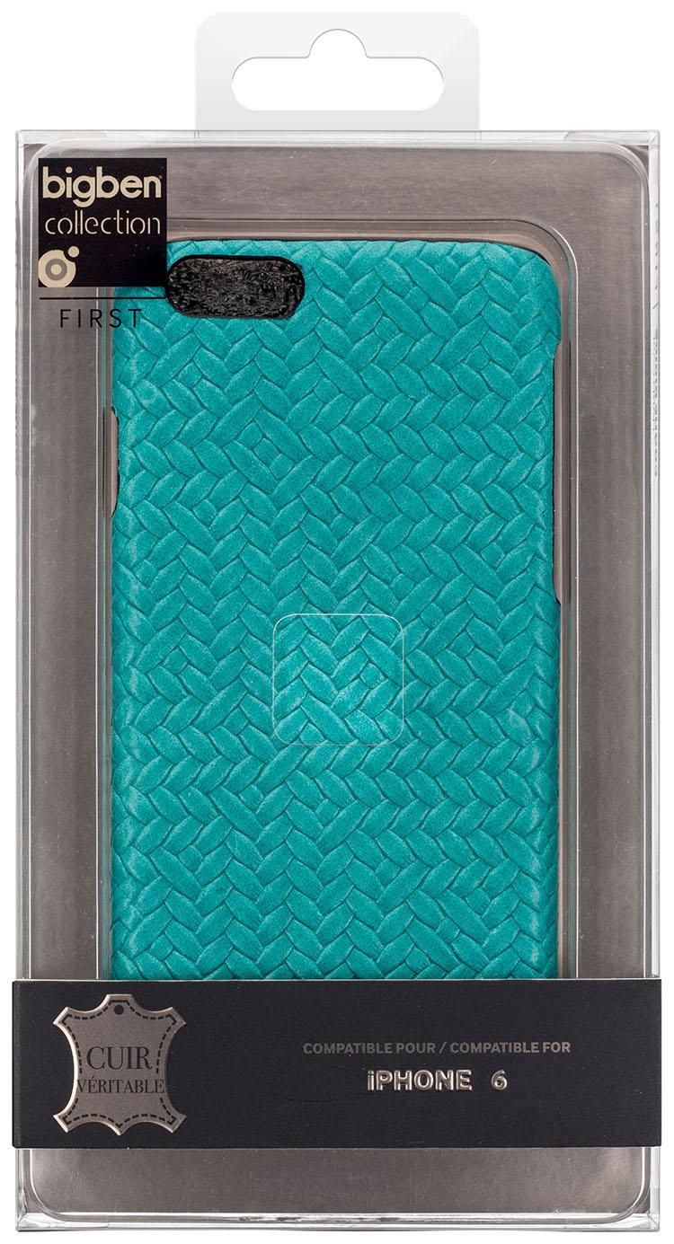 Hard Case 'Braided Leather' (Blue) - Immagine