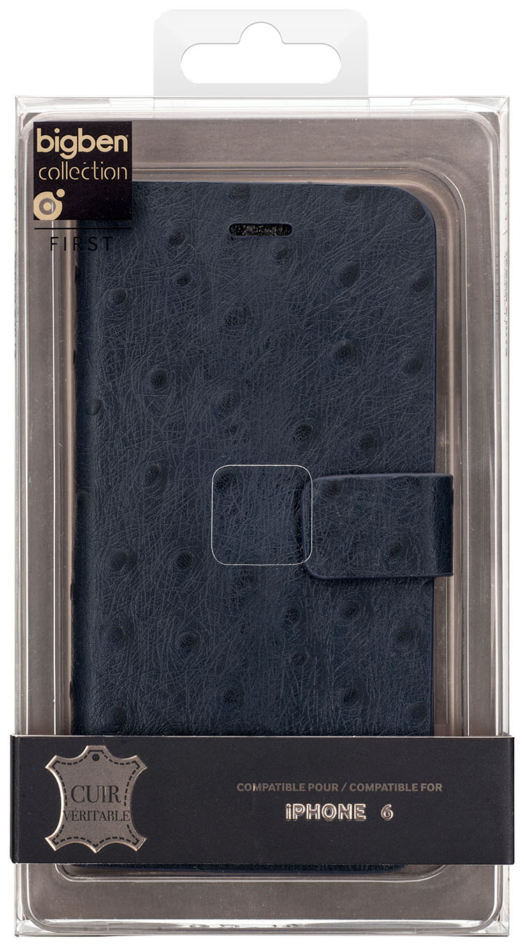 Folio Case 'Ostrich' (Blue) - Immagine #2