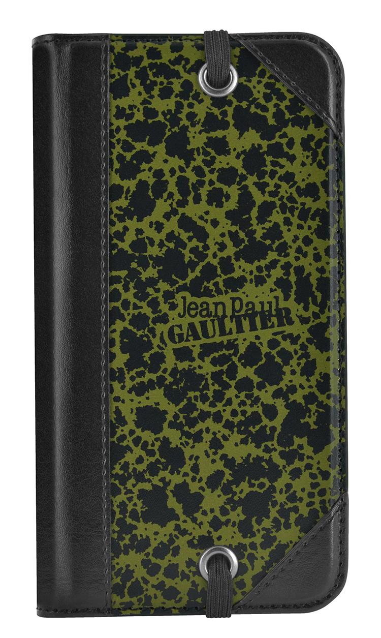 "Jean-Paul Gaultier Folio Case Military"" (Green)"" - Immagine #1"