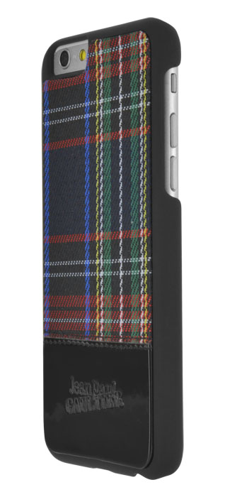 Jean-Paul Gaultier Hard Case Tartan (Black) - Immagine