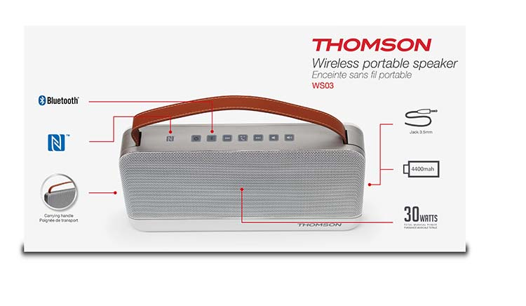 THOMSON Wireless Portable Speaker - Immagine #1